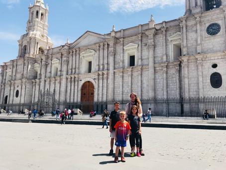 Arequipa, la ville blanche !