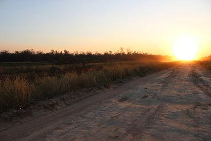 Une route du chaco- Paraguay