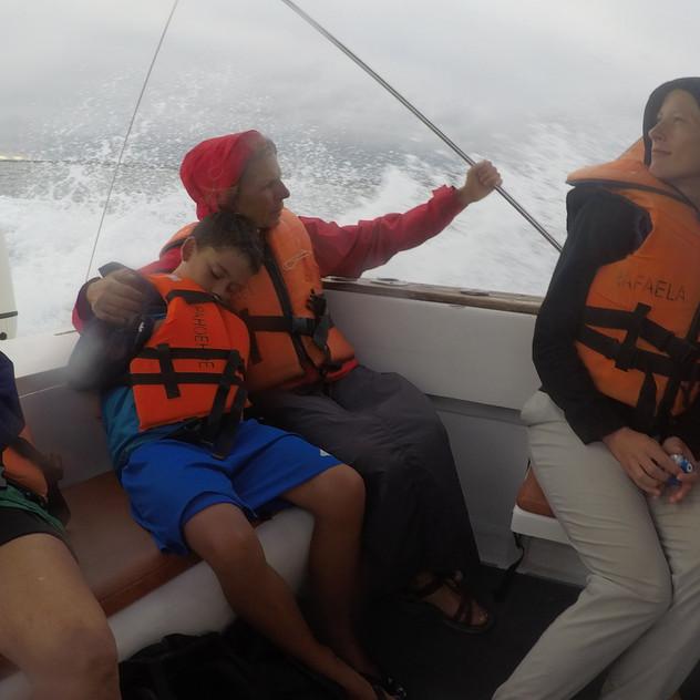 Retour à Puerto Villamil