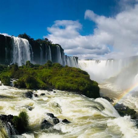Au cœur des chutes d'Iguaçu au Brésil !