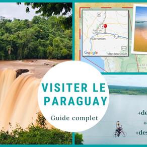Road Book - Visiter le Paraguay