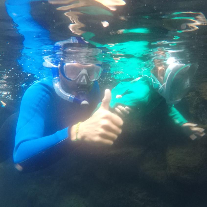 Snorkeling à Las Grietas