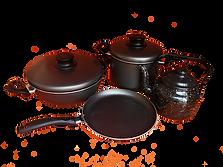 casserole et bouilloire