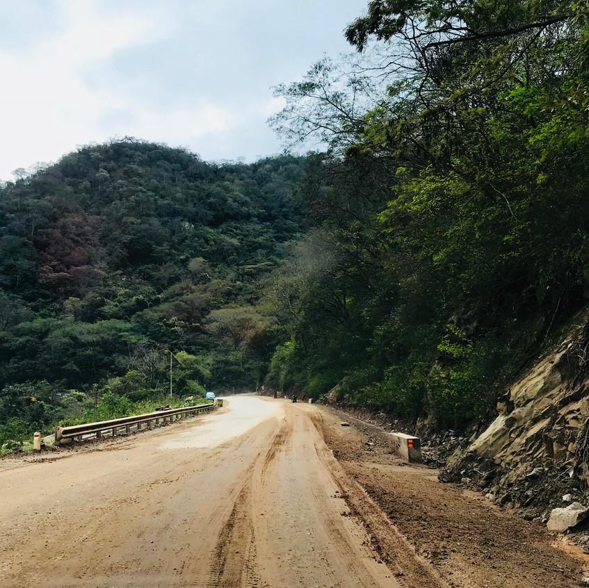 Camino antiguo- Samaipata