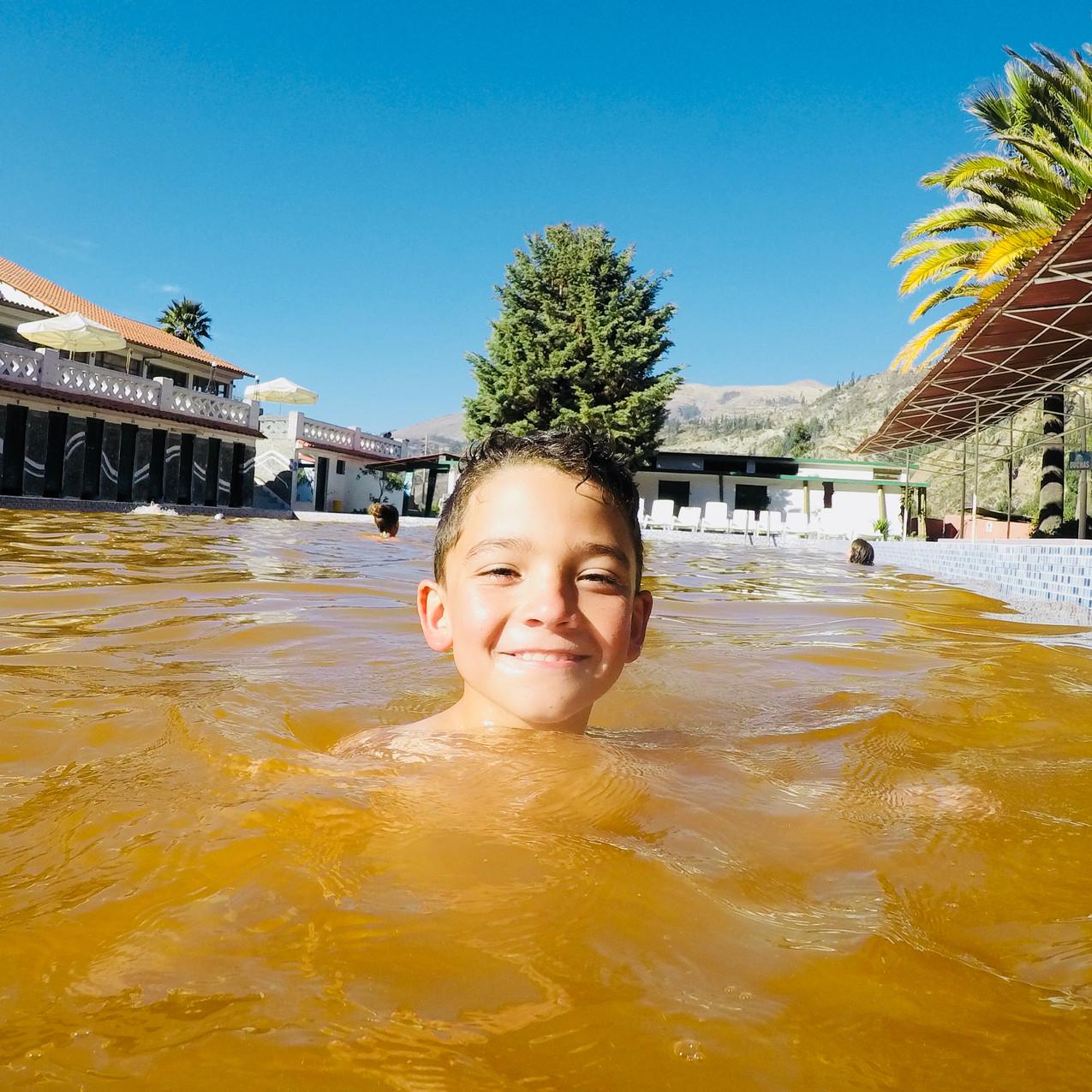 Bains thermaux Huaraz