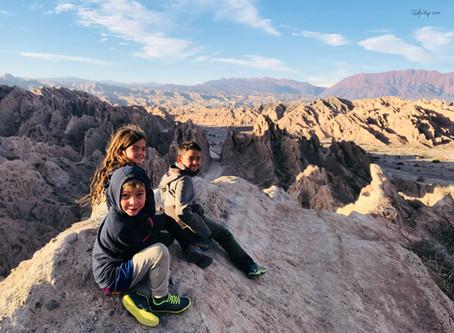 De Cafayate à Salta – entre désert Andins et formation rocheuse