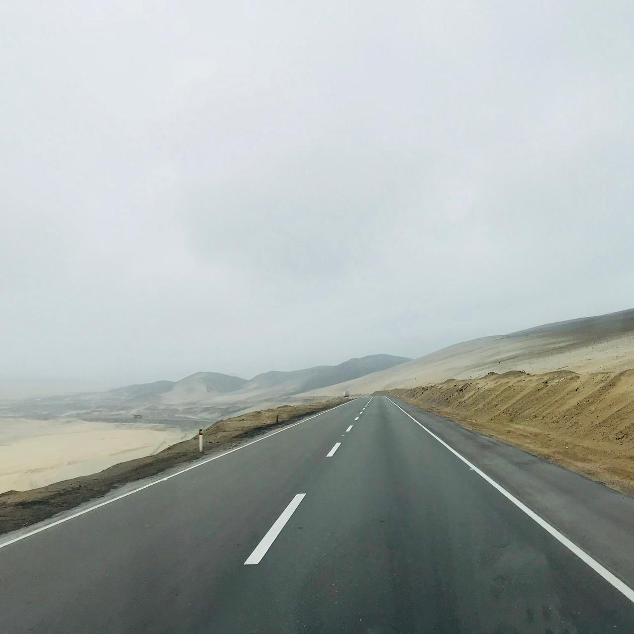 Sur la route pour huaraz