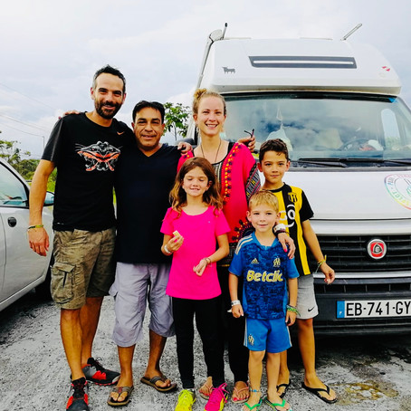 Notre arrivée en Équateur.