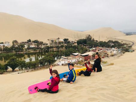 NASCA et Ica... dans les dunes péruviennes