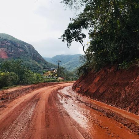 Camino antiguo - de Santa cruz à Samaipta !