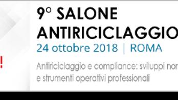 9° Salone Antiriciclaggio