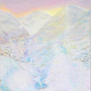 Eingeschneit, 2014, 136 x 130 cm, oil on canvas