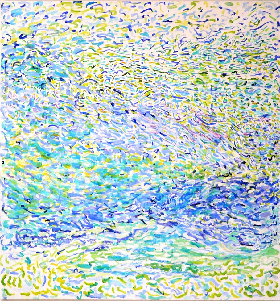 Schwarm, 190 x 180 cm, 1996, Acryl, colo