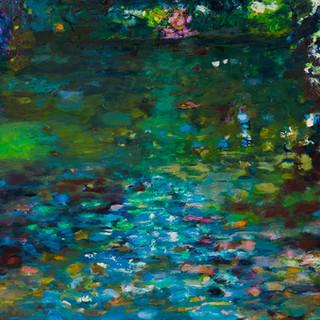 Im Berliner Tiergarten 3, 2011/13, 72 x 100 cm, oil on canvas