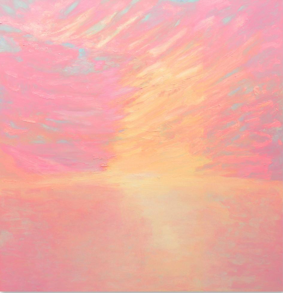 Licht, 2014, 136 x130 cm, oil on canvas