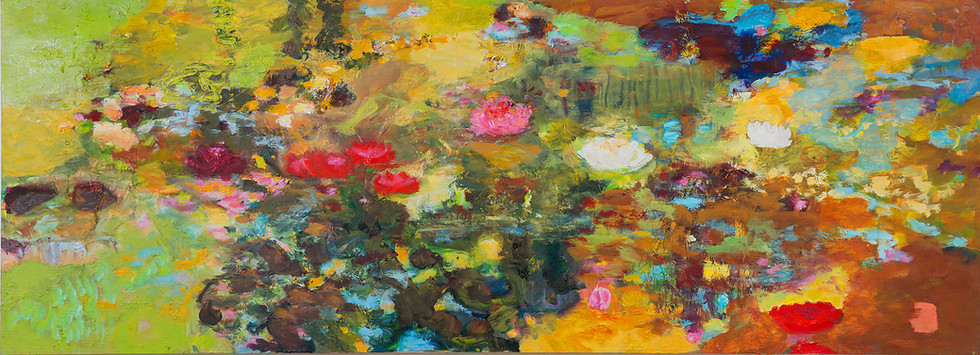 Verbania, 2011, 72 x 200 cm, oil on canvas