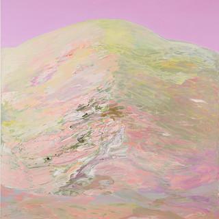 Schweizer Berg, 2013, 136 x 130 cm, oil on canvas