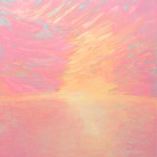 Licht, 2014, 136 x 130 cm, oil on canvas