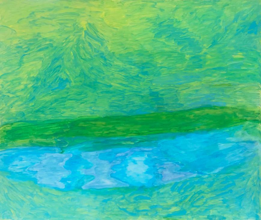 Alp, 2003, 130 x 150 cm, Öl auf Leinwand