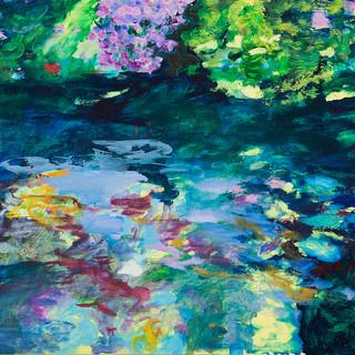Im Berliner Tiergarten 4, 2012, 72 x 100 cm, oil on canvas