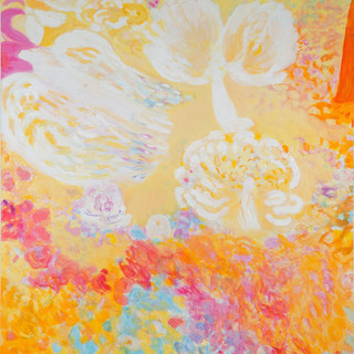 Ananda, 2014/15, 190 x 180 cm, oil on canvas