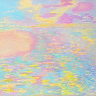 Ganga, 2004/08, 190 x 200 cm, oil on canvas