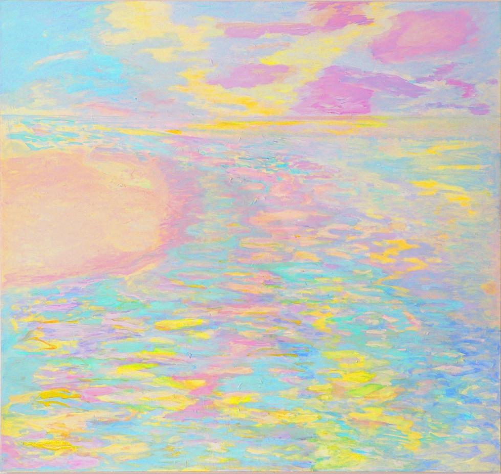 Ganga, sie nimmt Alle in ihre Arme, 2004/08, 190 x 200 cm, oil on canvas