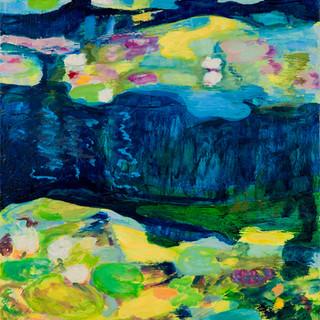 Im Berliner Tiergarten 5, 2012, 100 x 72 cm, oil on canvas