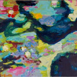 Im Berliner Tiergarten 6, 2013, 72 x 100 cm, oil on canvas