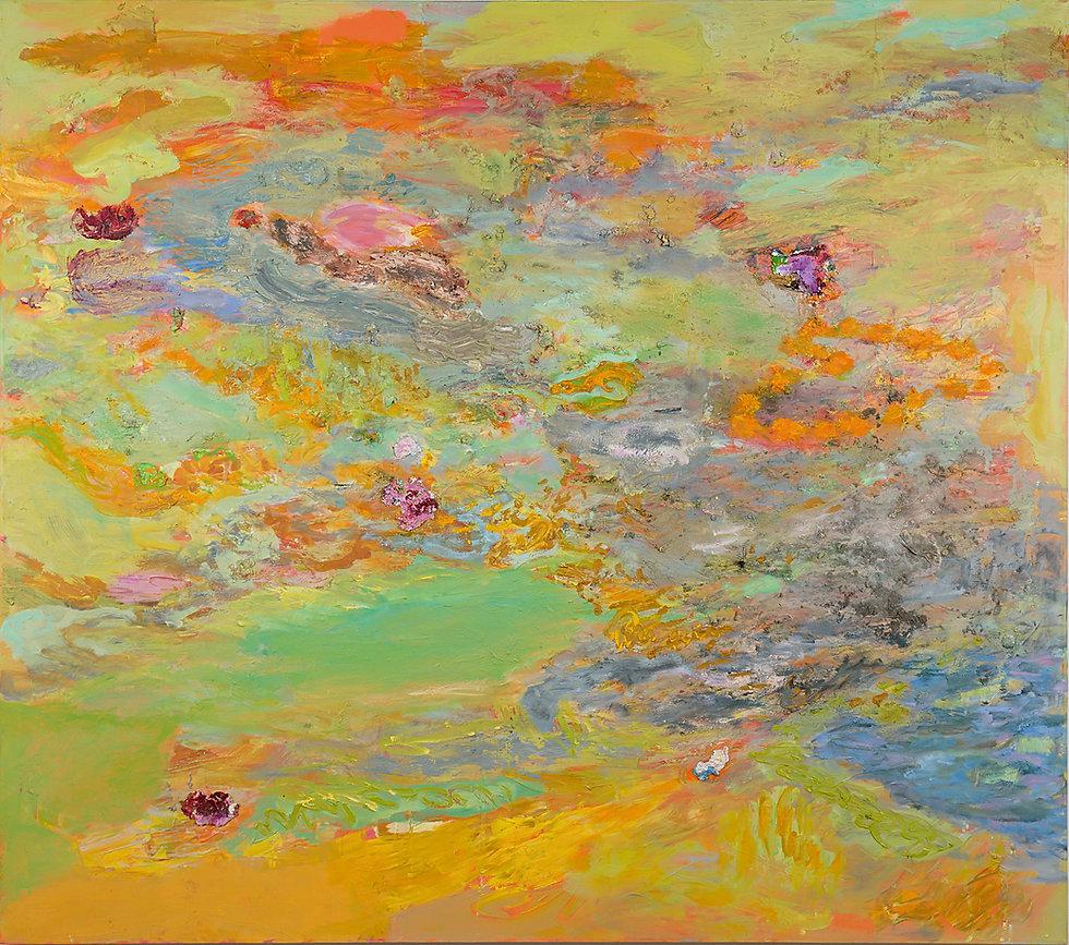 Monsun, 2007, 150 x 170 cm, oil on canvas