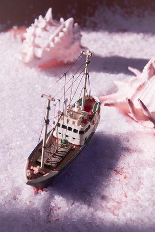 Mar de sal rosa