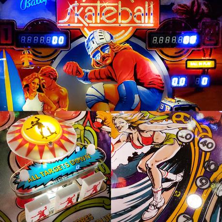 Skateball Pinball