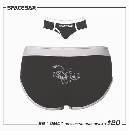 """Spacebar Arcade """"DMS"""" Ladies Undies"""