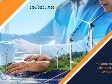 Impianto fotovoltaico aziendale: in quanto tempo si ripaga?