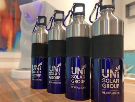 Una borraccia per ciascuno e acqua gratuita per ridurre la plastica