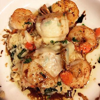shrimp and scallop risotto.JPG
