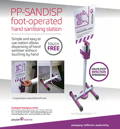 Foot operated Hand Sanitising Station - Buying Group only