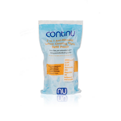 Continu 2 in 1 Wipes Refills - Box of 8 - Buying Group