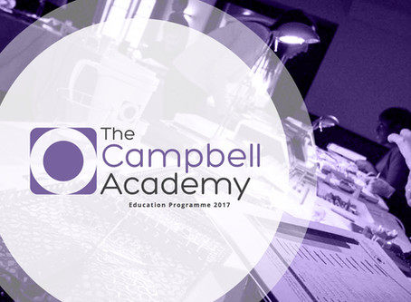 The Campbell Academy Education Programme 2017