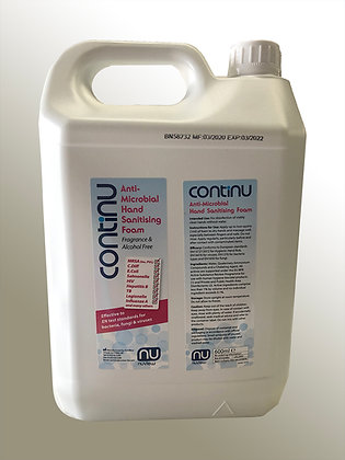 Continu 5 litre Hand Sanitising Foam