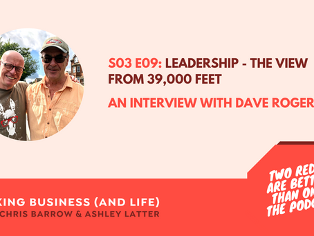 A Podcast interview with Captain Dave Rogers – Leadership – the view from 39,000 feet