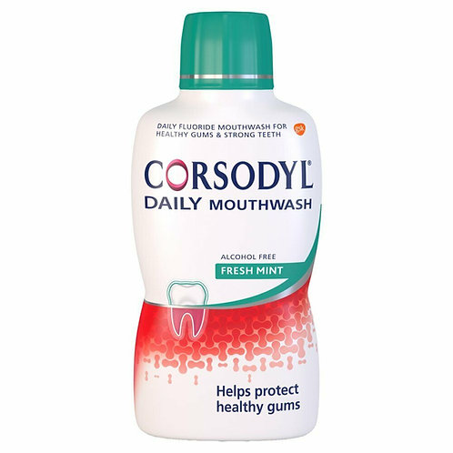 Corsodyl Daily Mouthwash - Fresh Mint Flavour