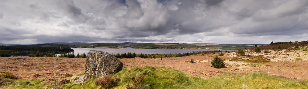 Kielder water panorama