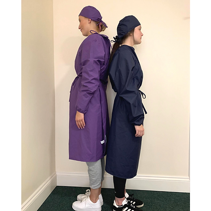 The Ultimate Yorkshire Gown and Cap - Purple - Buying Group only