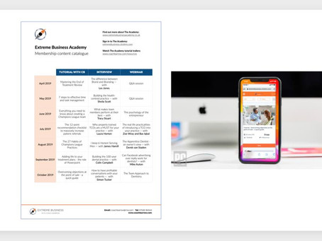 An exciting announcement – The Extreme Business Academy is now mobile compatible!