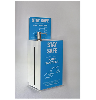 Countertop Sanitiser Station with Wall Bracket 5Ltr