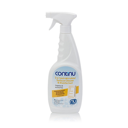 Continu 2 in 1  Surface Cleaner Spray - Box of 6