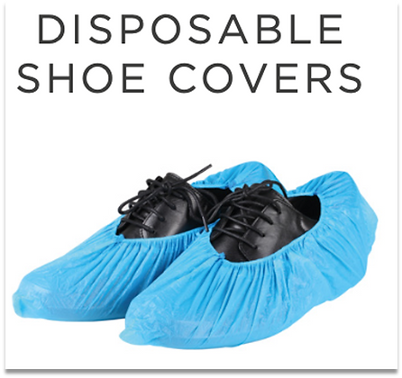 Disposable Shoe Covers - Box of 50 pairs