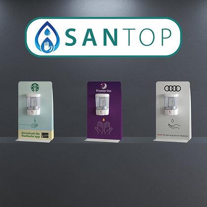 SANTop Hand Sanitiser Counter Top Station - FREE branding