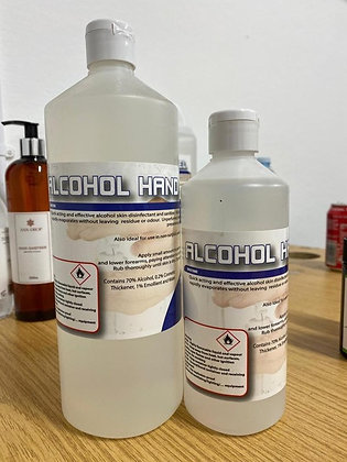 Bonnyman Hand Sanitising Gel 70% Alcohol - 1 Litre - Buying Group